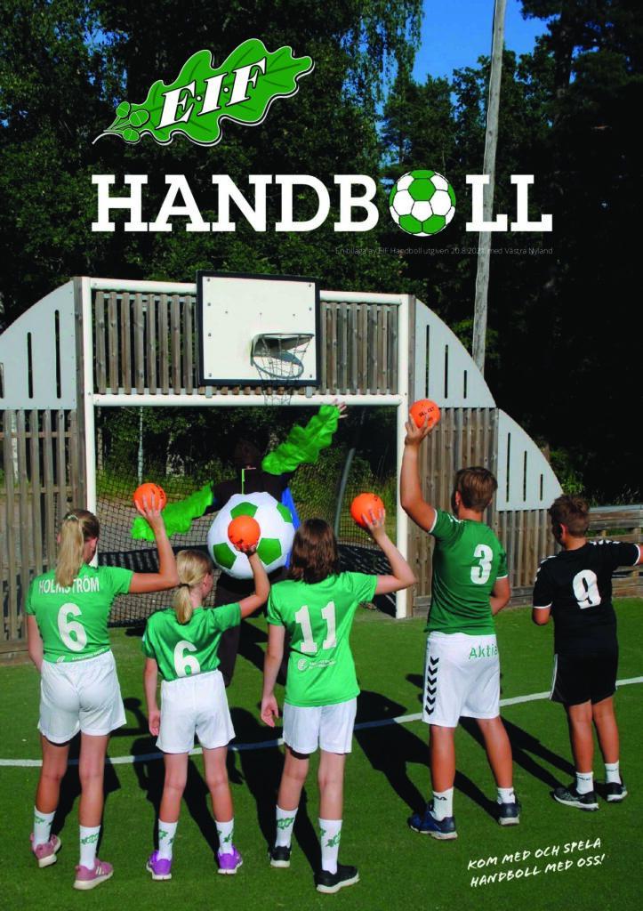 Eif handboll tidning